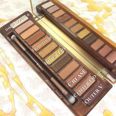 Look 1 naked honey palette urban decay