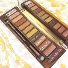 Look 4  naked honey palette urban decay