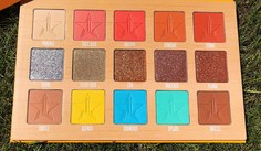Look 2 js thirsty palette straight on shades