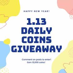 Look 01 1 13 2020 daily coins giveaway