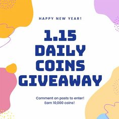 Look 01 1 15 2020 daily coins giveaway