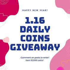 Look 01 1 16 2020 daily coins giveaway