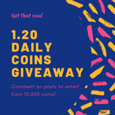 Look 0 daily coins giveaway