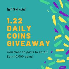 Look 01 1 22 of daily coins giveaway