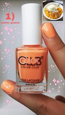 Look 01 color club nail polish collection