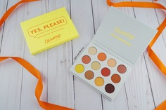 Look 1 colourpop yes please palette review swatches look
