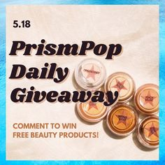 Look 0 prismpop daily product giveaway