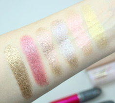 Look 4 swatches