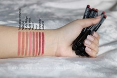 Look nyx professional makeup slim lip pencil review and swatches 2