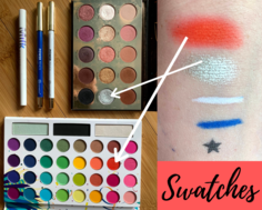 Look swatches and arrows
