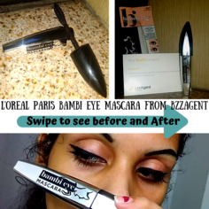 Look bambi eyes mascara bzz agent