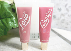 Look bellanoirbeauty reviews tinted lip balm from lanolip 1