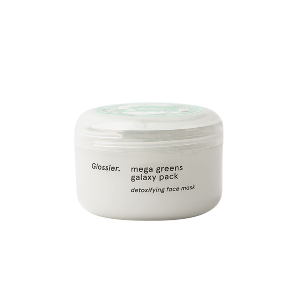 0 glossier mega greens galaxy mask