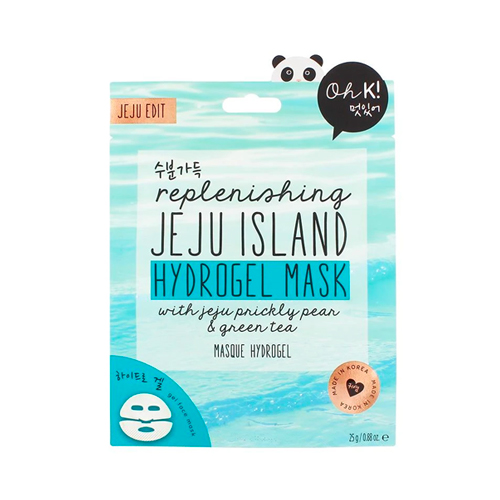0 jeju mineral lava sea water hydrogel mask