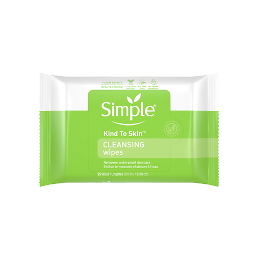 Kind to skin cleansing wipes