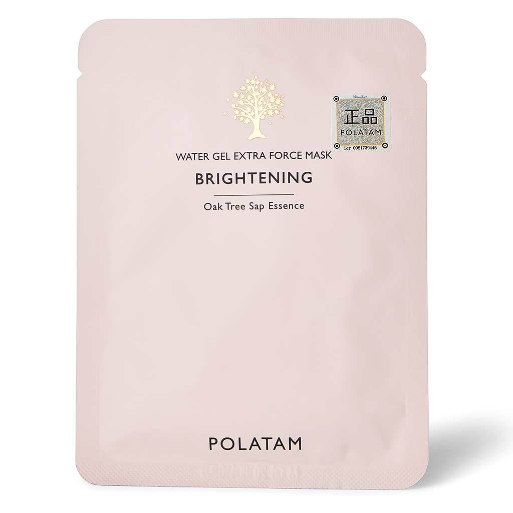 0  water gel extra force mask brightening   polatam