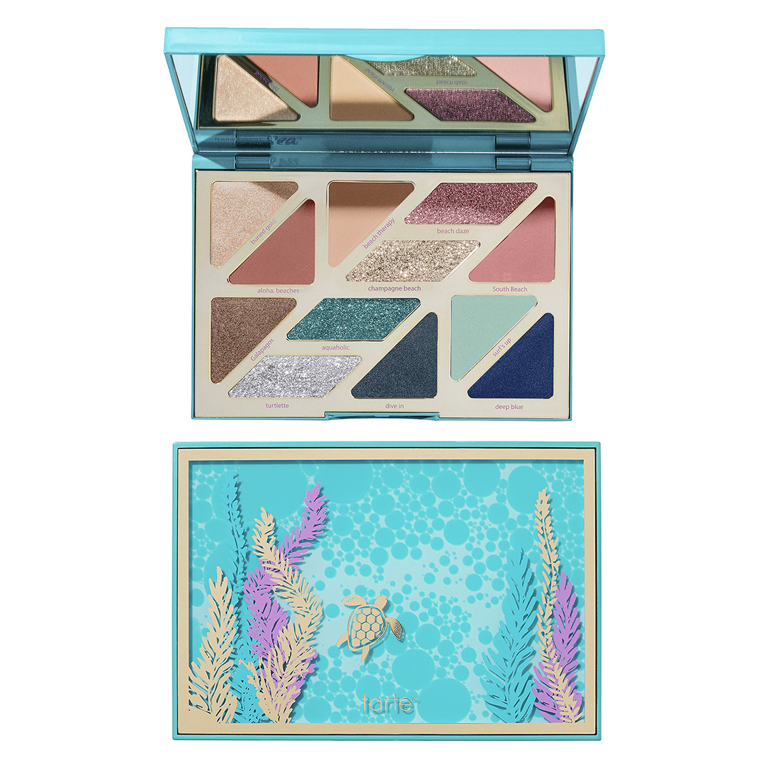 0 tarte high tides eyeshadow palette
