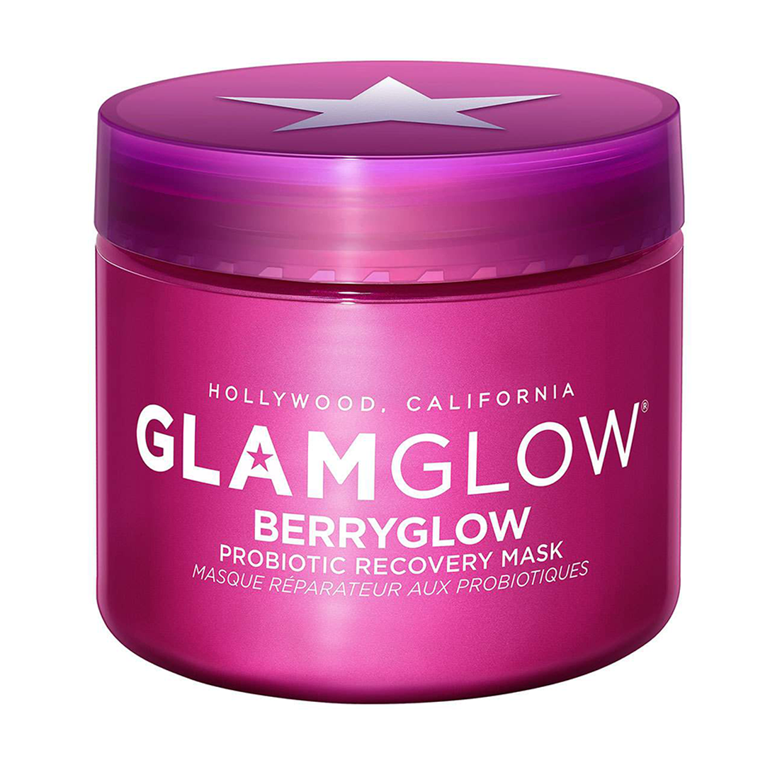 0   glamglow   berryglow  probiotic recovery face mask