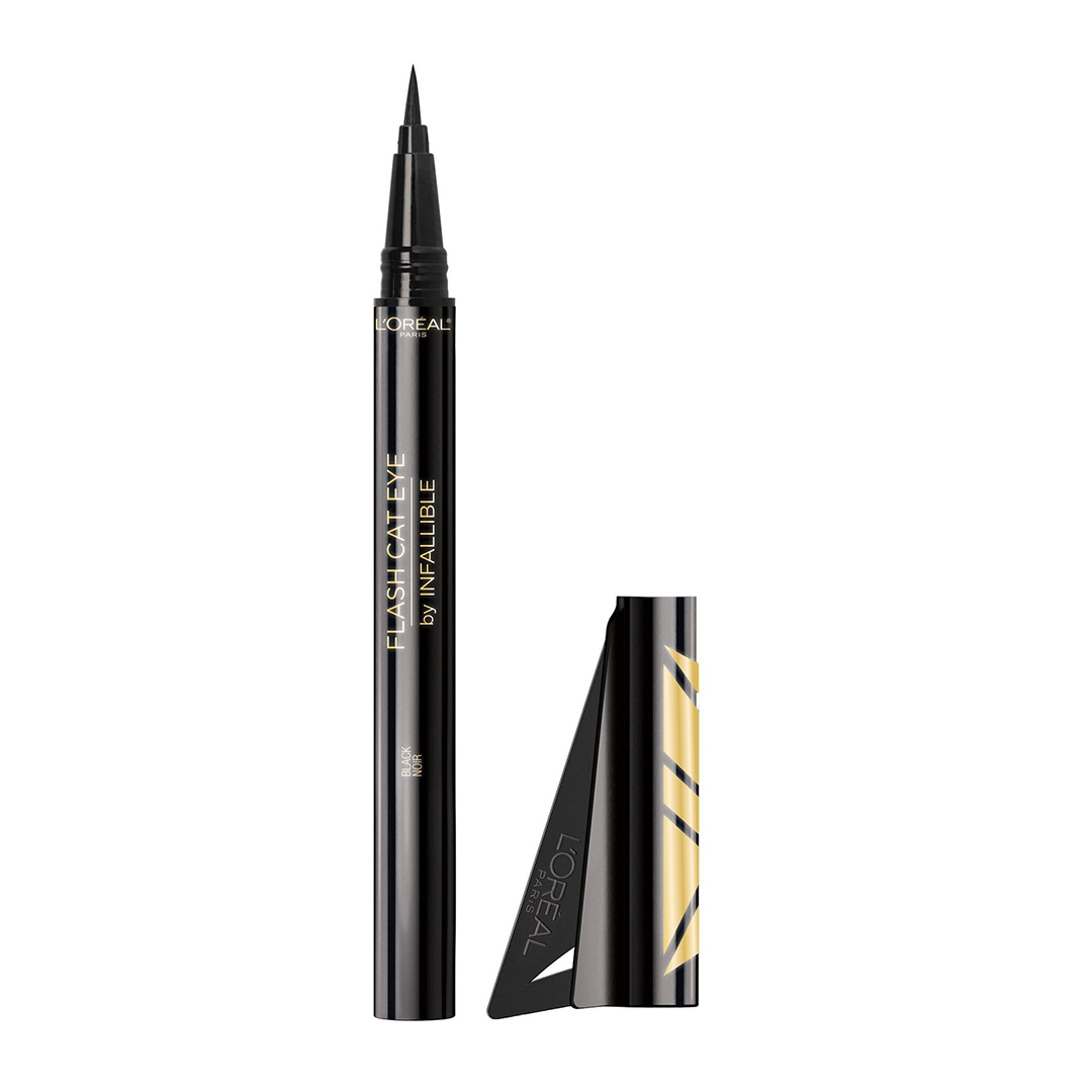 Infallible  flash cat eye waterproof brush tip liquid eyeliner from l oreal paris 0