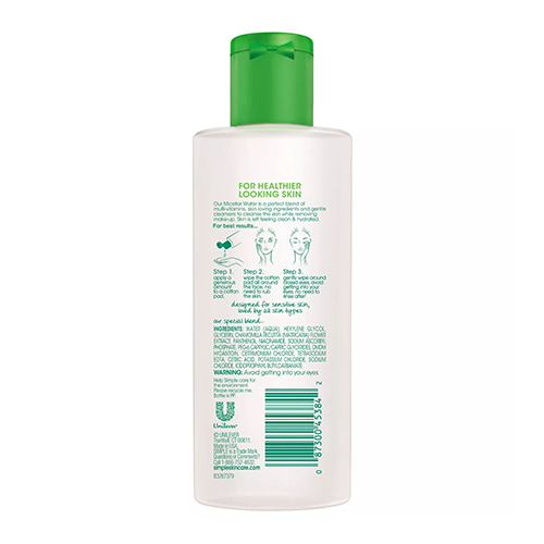 Micellar cleansing water from simple 2