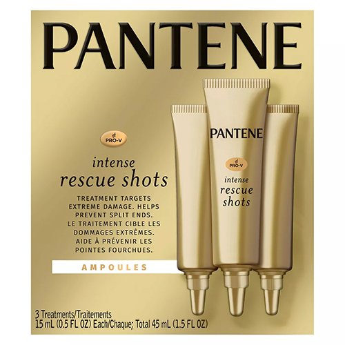 Pro v intense rescue shots ampoules hair treatment from pantene 2