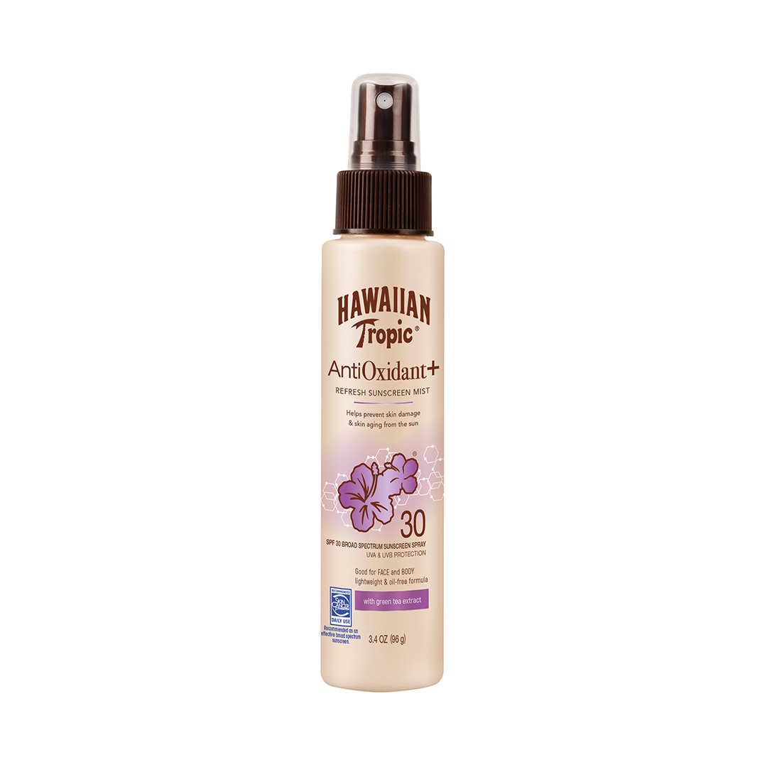 Antioxidant sunscreen mist from hawaiian tropic 1