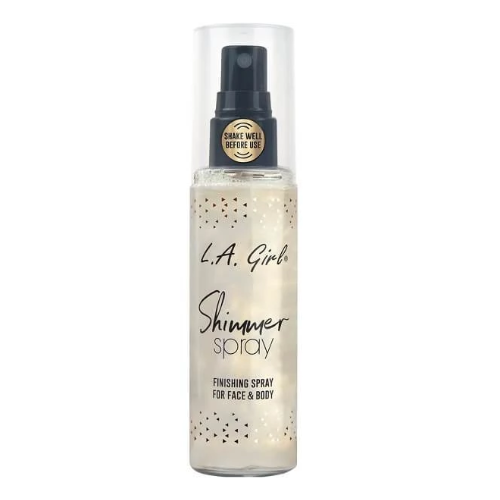 Shimmer spray from l.a. girl 0