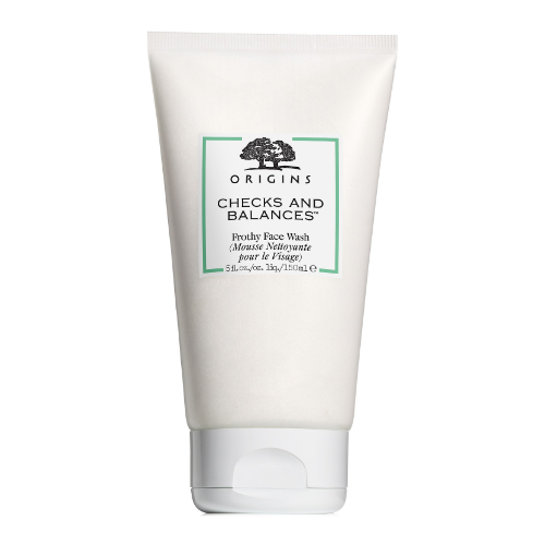 Checks and balances frothy face wash from origins 0