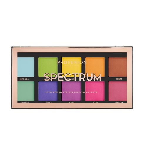 Spectrum palette from profusion cosmetics 0