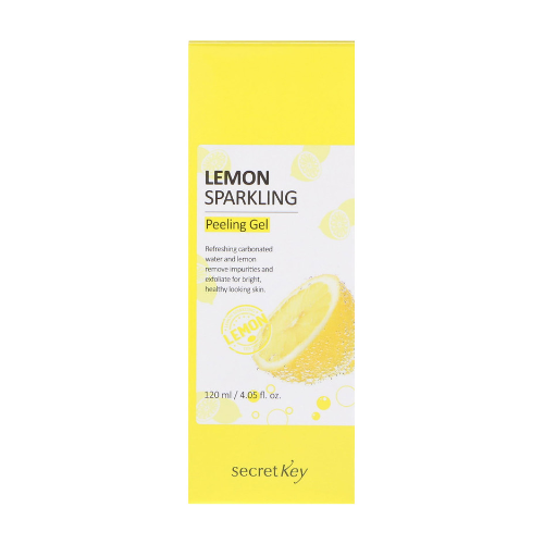 Lemon sparkling peeling gel from secret key 0