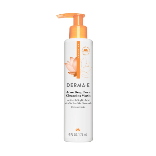 Acne deep pore cleansing wash from derma e 0