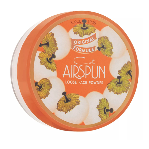 Loose face powder from coty airspun 0
