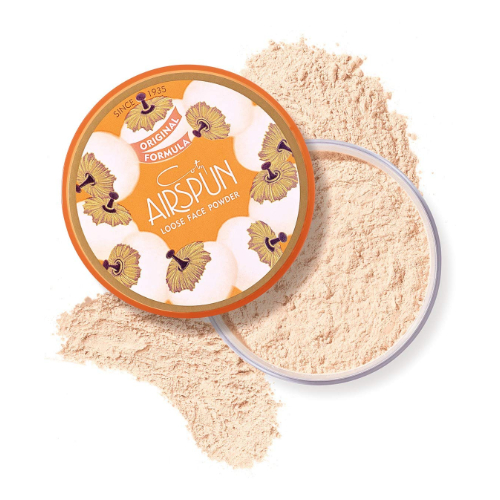 Loose face powder from coty airspun 3