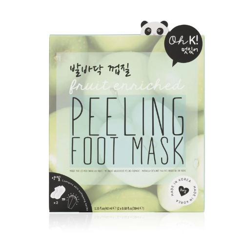 Peeling foot mask from oh k 0