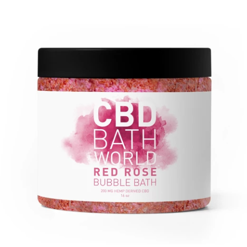 Red rose from cbd bath world 0