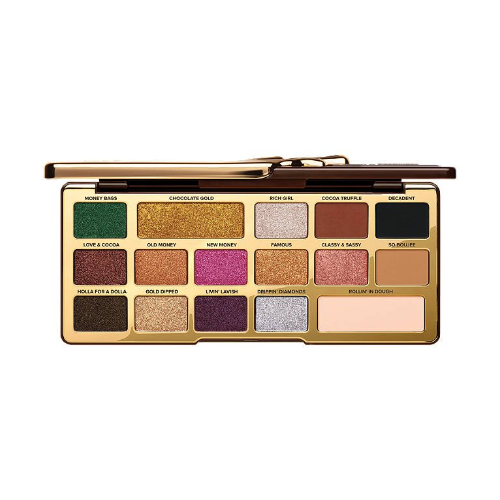 Chocolate gold metallic matte eyeshadow palette from too faced 0