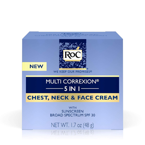 Multi correxion 5 in 1 chest  neck    face cream with spf 30 from roc 0