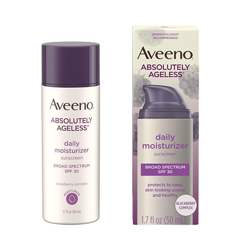 0 aveeno absolutely ageless daily moisturizer spf 30