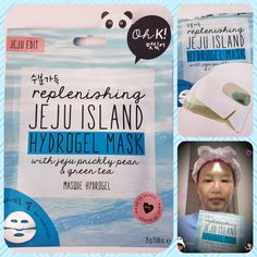 Look hydrogel mask