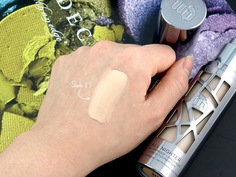 Look urban decay all nighter liquid foundation shade 2.5 review swatches 3