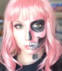 Look halloween makeup